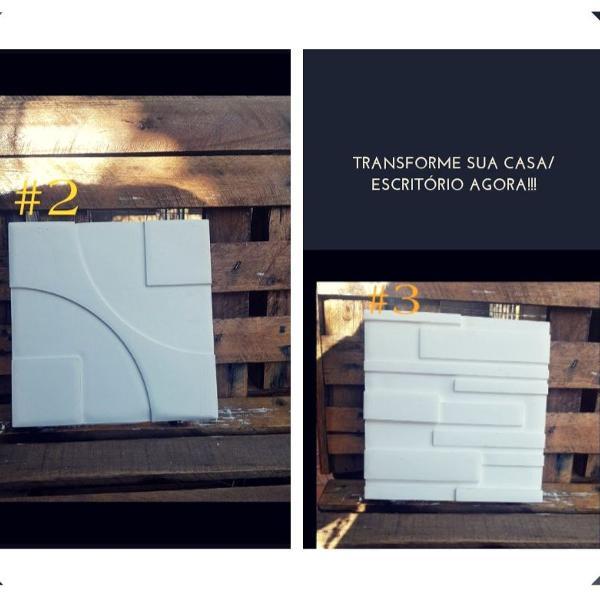 a.p placas de gesso/cimento 3d