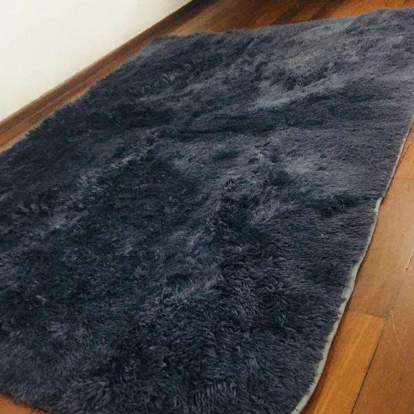 tapete shaggy felpudo