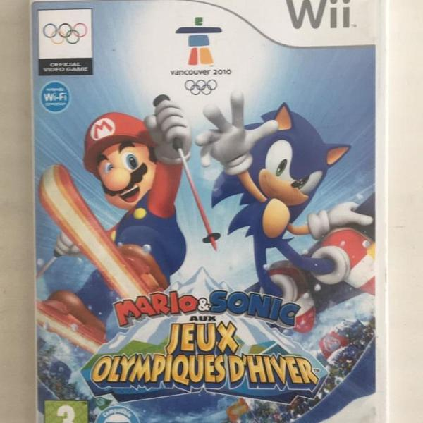 wii - mario & sonic at the olympic winter games pal
