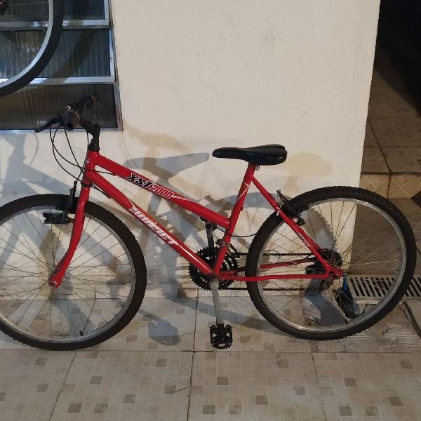 Bicicleta Xst2000 Sunset - Aro 26 - 18 Marchas - Vermelha