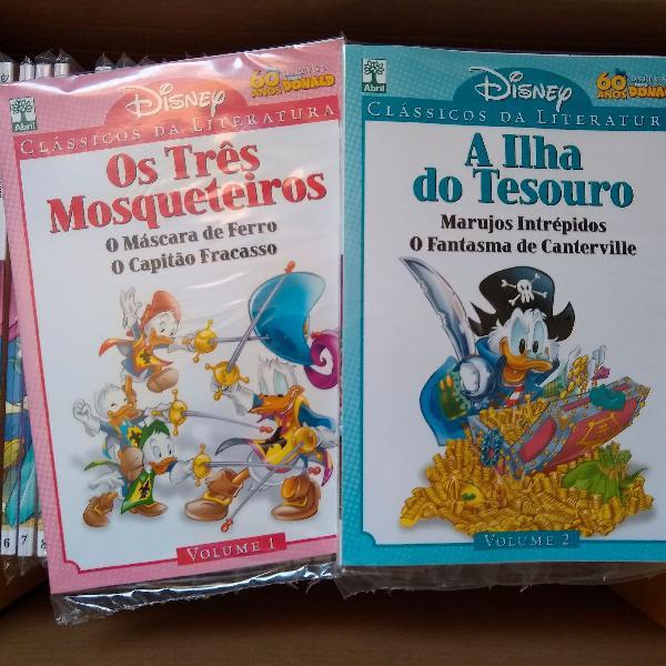 Clássicos Da Literatura Disney Coleção Completa