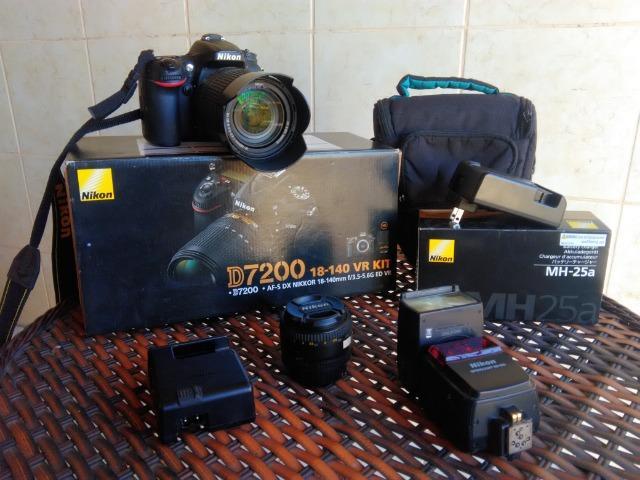 Câmera Nikon D Lente mm + Lente 50mm gb