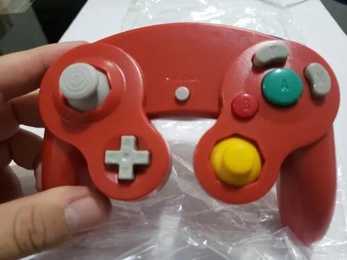 Controle Gamecube E Nintendo Wii Vermelho