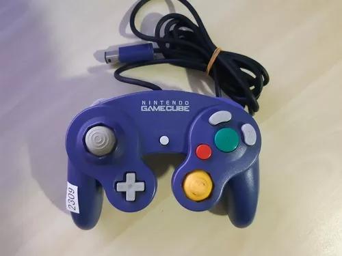 Controle Original Roxo Nintendo Gamecube Ref.2309