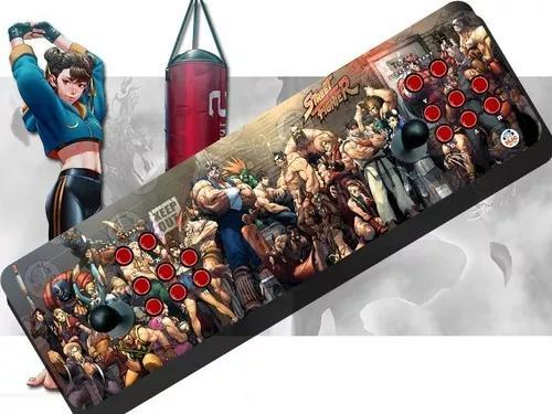 Fliperama Portátil Street Fighter Mais De 13 Mil Jogos 64gb