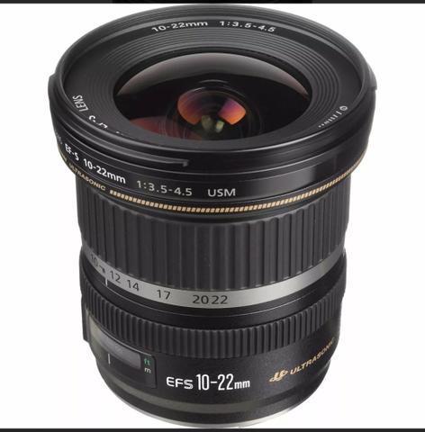Lente Canon EFS mm F/ USM