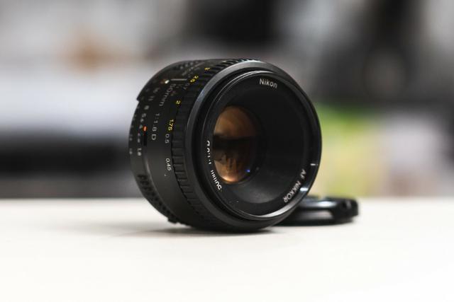 Lente Nikon 50mm Af 1.8d Semi-nova