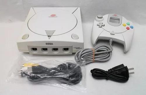 Sega Dreamcast Completo Funcionando Perfeitamente