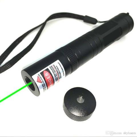 Super Caneta Laser Pointer Verde 8km Longo Alcance