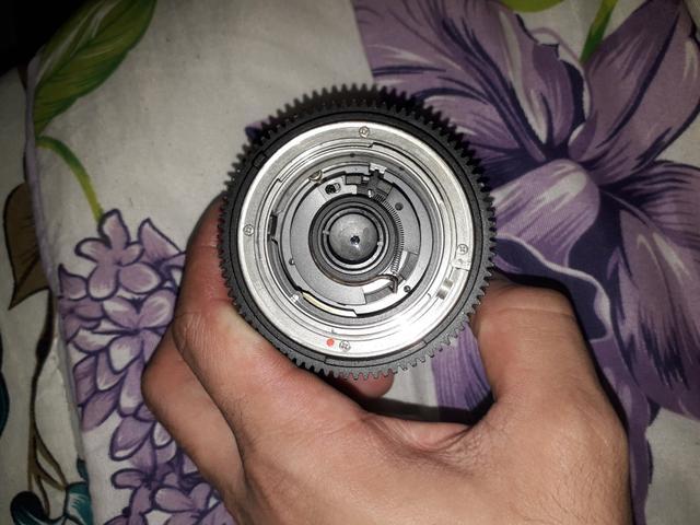 Vendo lente fisheye 8mm Rokinon
