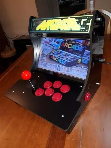 Videogame Mini Arcade Mini Bartop Tela 10 Pol. 11mil Jgs