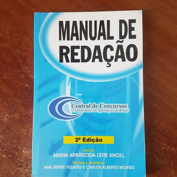 apostila manual de redação