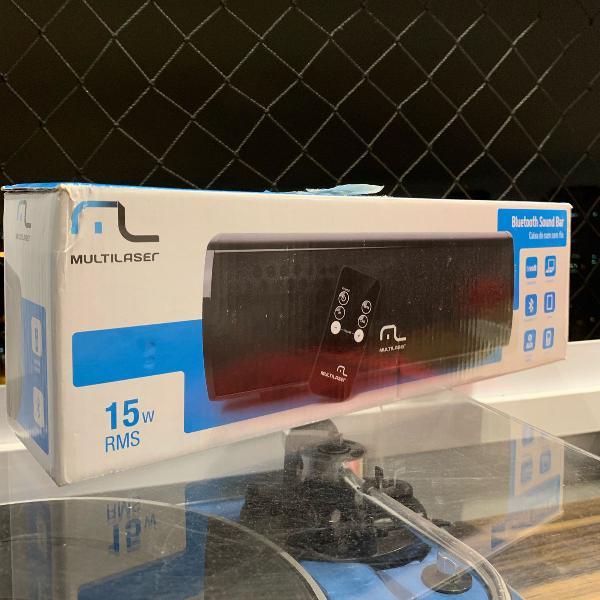 caixa de som bluetooth c/ controle remoto