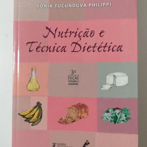 livro nutrição e técnica dietética