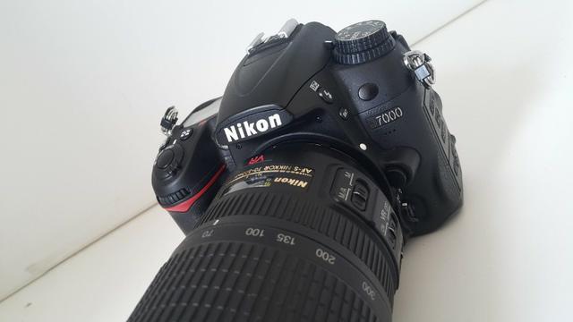 Câmera Nikon D - Lentes mm, 50mm DSLR