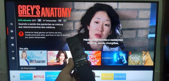 V/T Smart TV Samsung 4k , leia!