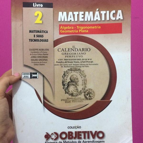 apostilas de matemática (colégio objetivo)