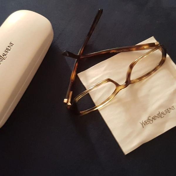 culos ysl acetato para colocar lentes de grau ou de sol