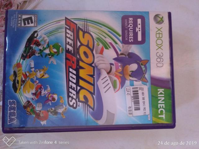 3 jogos + Kinect Xbox 360