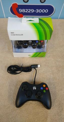 Controle xBox 360 com fio [entrega grátis] *