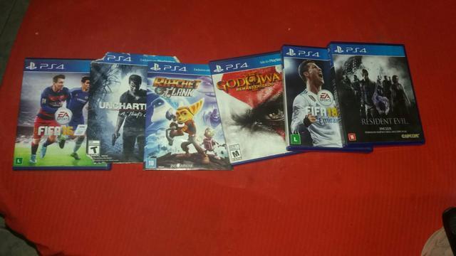 Troco esses jogos de PS4 em jogos de Xbox 360 original