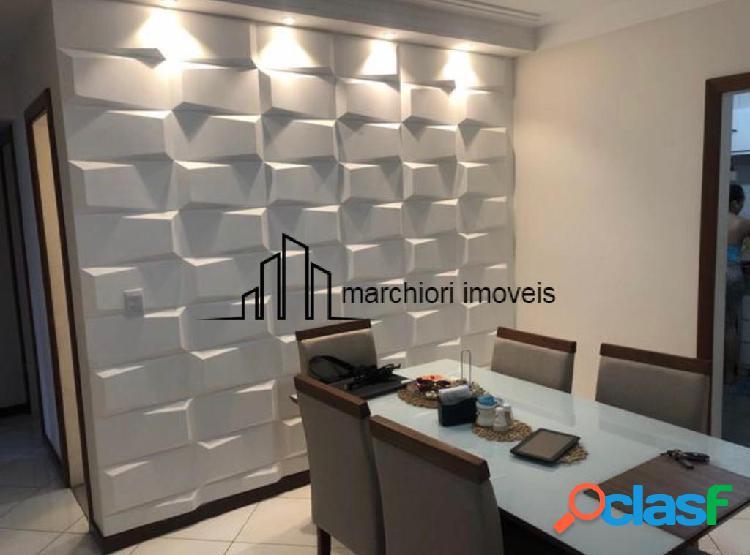 Apartamento 3 Quartos (1 Suíte), 107 m², Dependência, Sol