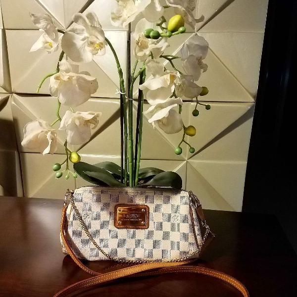 Bolsa Louis Vuitton Eva Damier Azur