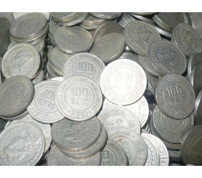 COMPRO MOEDAS ANTIGAS DE RÉIS, PAGO R$20 O QUILO-Sp