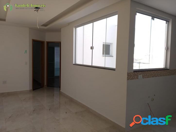 Cobertura sem condomínio, 2 dormitórios, Vila Alzira