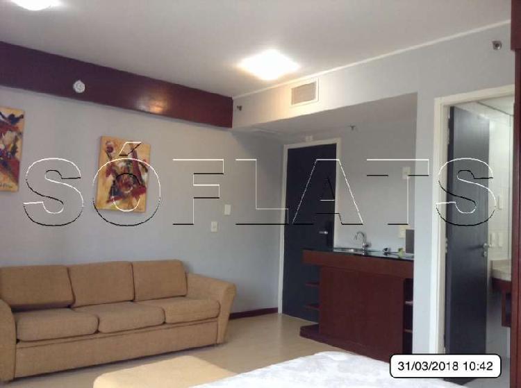 Flat com 1 Quarto para Alugar, 30 m² por R$ 1.550/Mês COD.