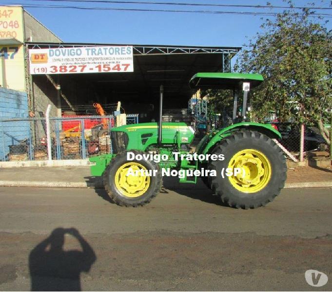 John Deere 5085E 4X4 Ano:2012 com redutor de velocidade !!