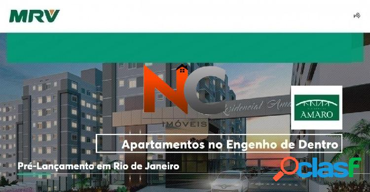 Residencial Amaro - MRV- Apartamento com 2 dorms - R$ 220