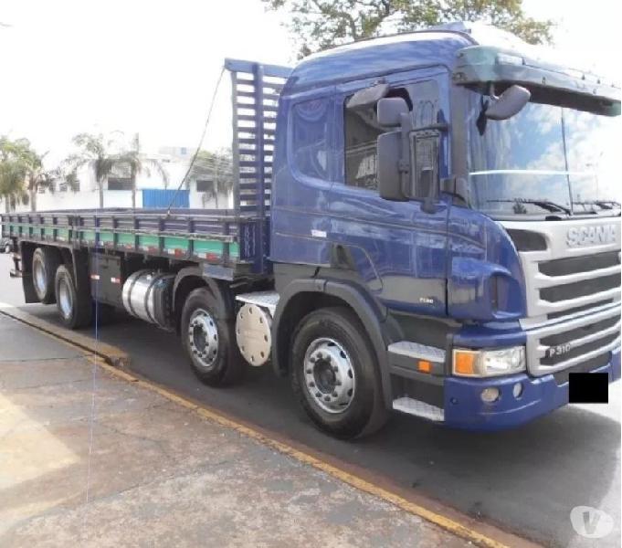 Scania p310 Bitruck 8x2 2014 impecável