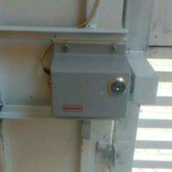 Trava elétrica para portões automáticos
