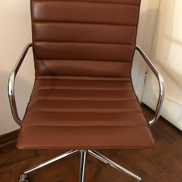 cadeira de escritório giratória com regulagem