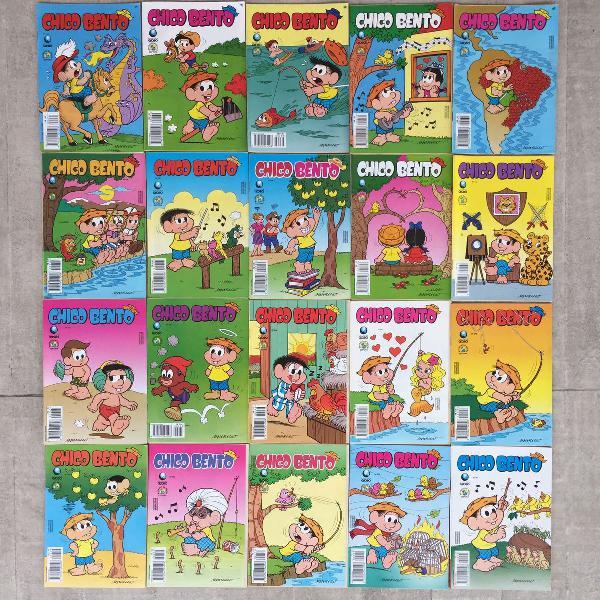 coleção de gibis chico bento anos 90 20 unidades