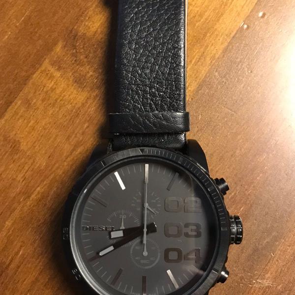 relógio masculino diesel nunca usado