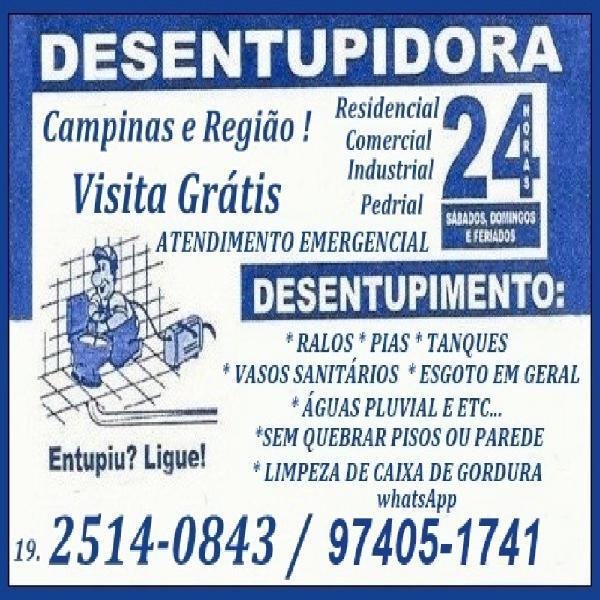 Desentupidora No Jardim São Marcos em Campinas (19)