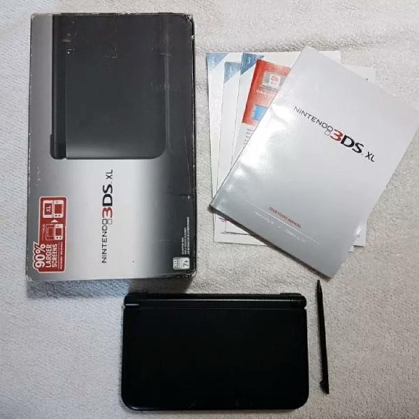 Nintendo 3DS xl desbloqueado + Jogos + Acessórios