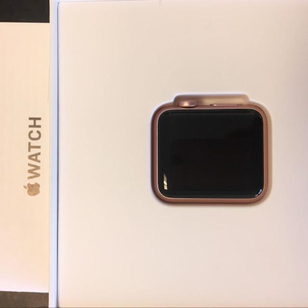 apple watch novo, nunca usado serie 1, com garantia