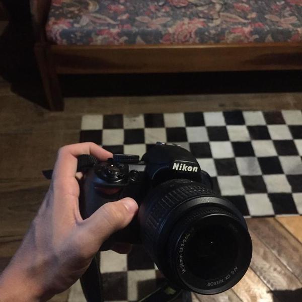 nikon d3100 + lente 50mm