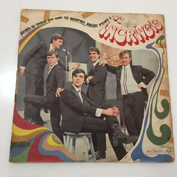 os incríveis - p/ os jovens que amam os beatles - 1967 - lp