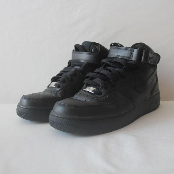 tênis nike air force black unisex
