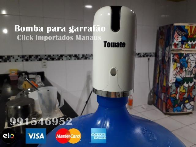 Bomba De Água Elétrica Recarregável Tomate, entregamos