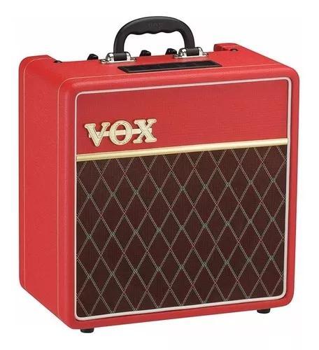 Promo Combo Valvulado Vox Ac4c1-rd Edição Limitada 4 Watt