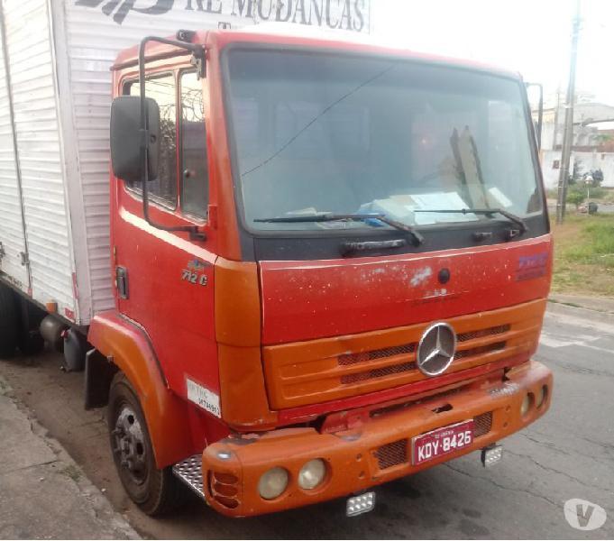 Vende Se Caminhão 712-C Eletrônico Mercedes Benz