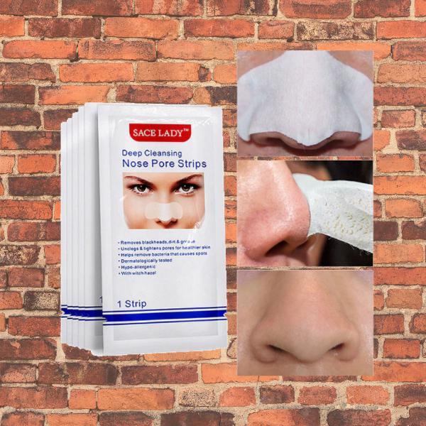adesivo tiras máscara de nariz para remoção de acne 10