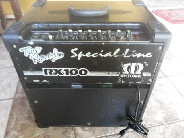 Amplificador Para Guitarra Meteoro RX 100 Two Reverb, com