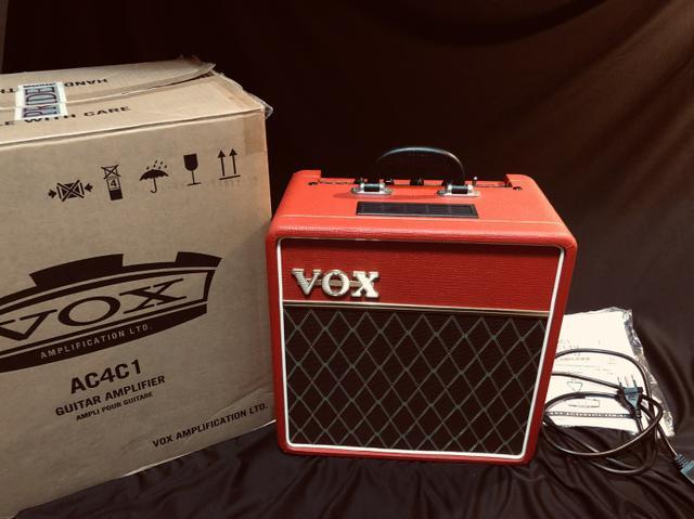 Amplificador valvulado Vox ac4c1 red limited NOVO!