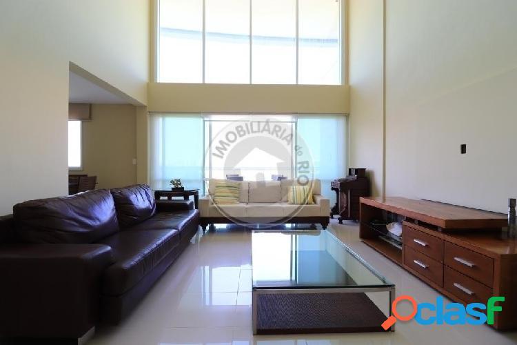 Apartamento duplex 160m², vista lagoa, Península